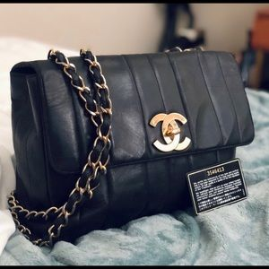 Chanel Jumbo 24ct single flap